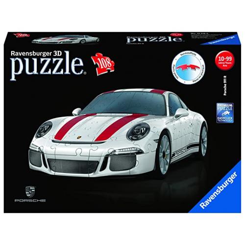 Porsche 911 R 3D Puzzle 108pc