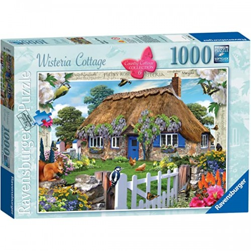 Ravensburger - Wisteria Cottage 1000pc Jigsaw 190942
