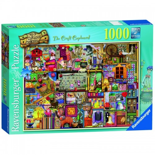 Ravensburger - The Craft Cupboard 1000pc Jigsaw 194124