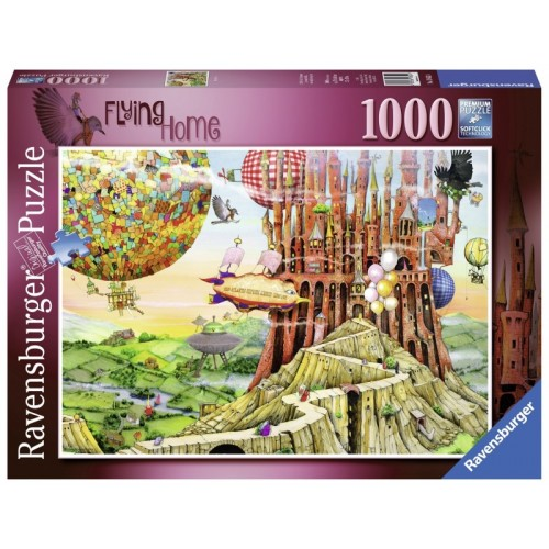 Ravensburger - Colin Thompson Flying Home 1000pc Jigsaw 196524