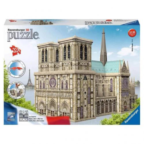Notre Dame 3D Puzzle 324pc