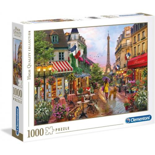 Clementoni Flowers in Paris 1000pc Jigsaw