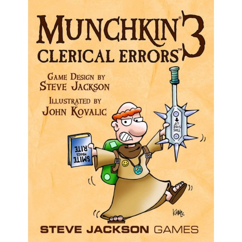 Munchkin 3 Clericial Errors
