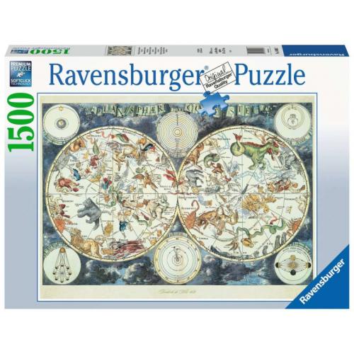 Ravensburger - World Map of...