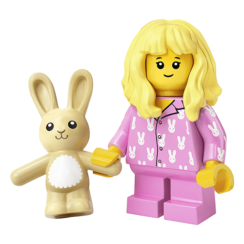 LEGO Series 20 Sleepy Girl