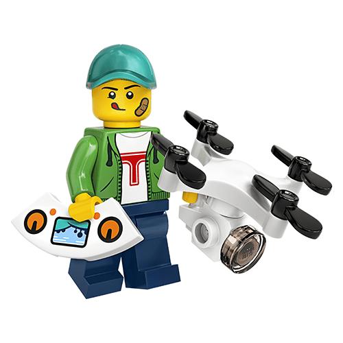 LEGO Series 20 Drone Pilot