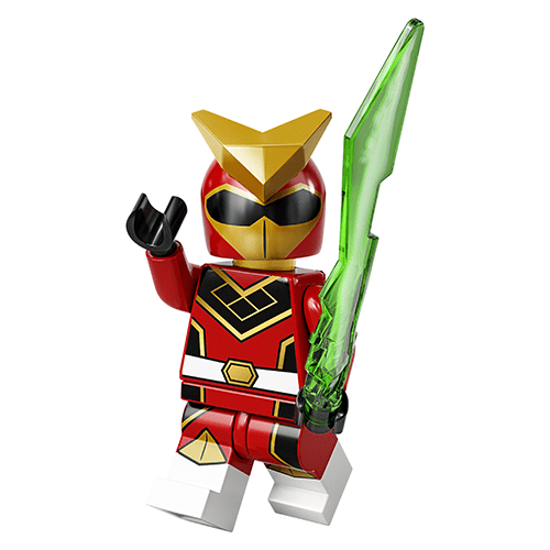 LEGO Series 20 Red Ranger