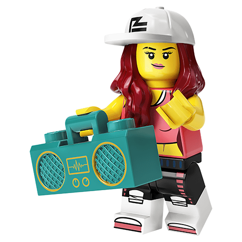 LEGO Series 20 Breakdancer
