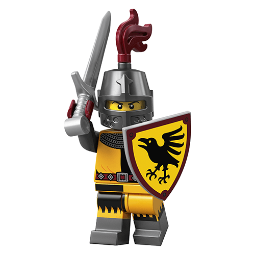 LEGO Series 20 Tournament Knight