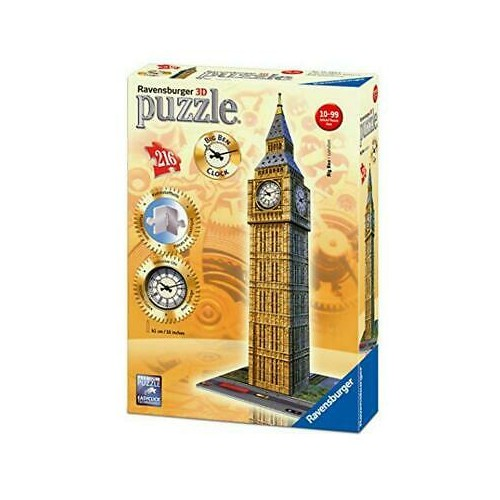 Ravensburger Big Ben 3d With Clock 3D Puzzle 216pc