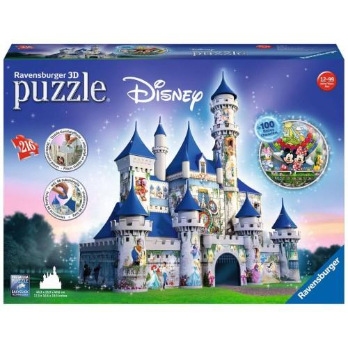 Ravensburger Disney Castle 3D Puzzle 216pc