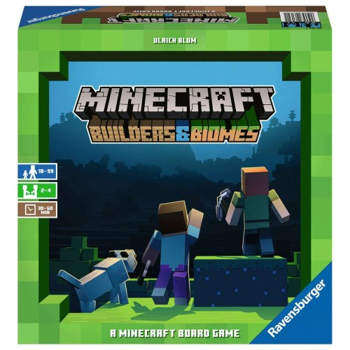 Minecraft Builders and Biomes Game