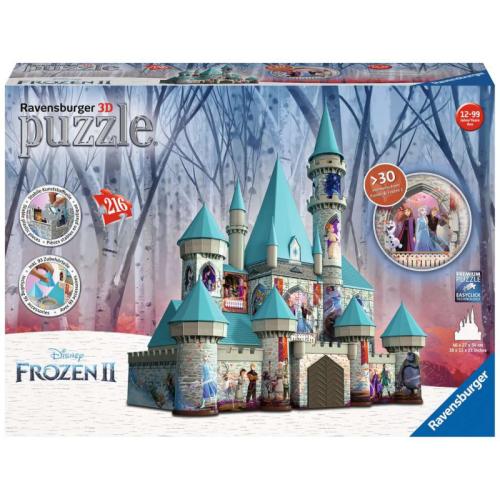 Disney Frozen II Castle 3D Puzzle
