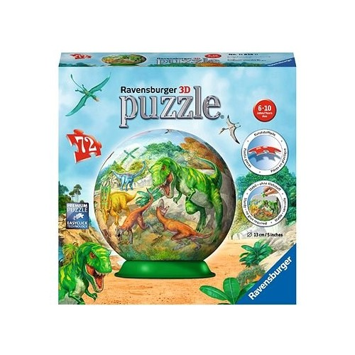 Empire of Dinosaurs 72pc 3D Puzzle