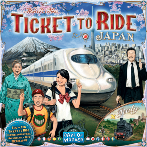 Ticket to Ride Japan and Italy