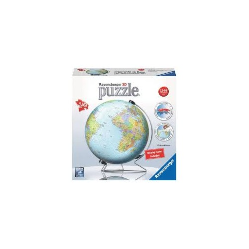 World Globe 3D Puzzle 540pc