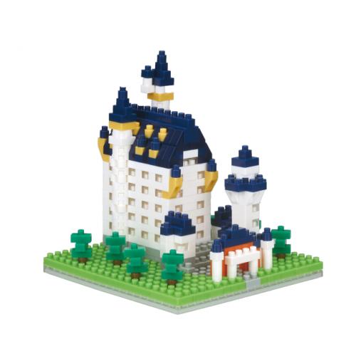 Nanoblocks Neuschwanstein Castle 2