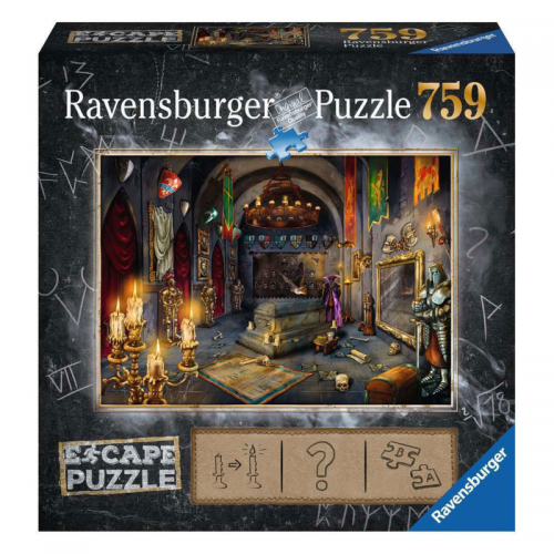 Escape 5 - Dragon Laboratory Puzzle 759pc