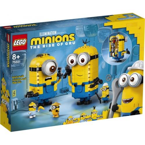 Brick Built Minions and Their Lair
