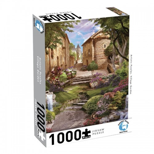 Puzzlers World Village Garden 1000pc Jigsaw