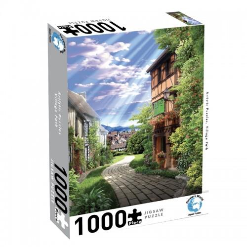 Puzzlers World Village Path 1000pc Jigsaw