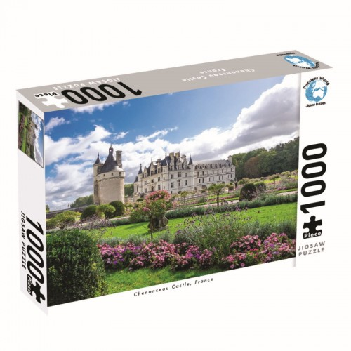 Puzzlers World Chenonceau Castle 1000pc Jigsaw