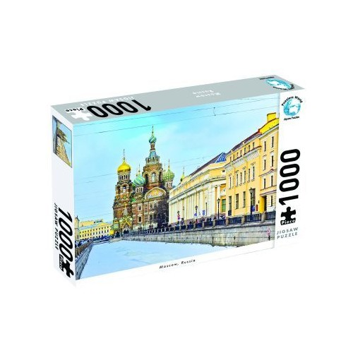 Puzzlers World Moscow 1000pc Jigsaw