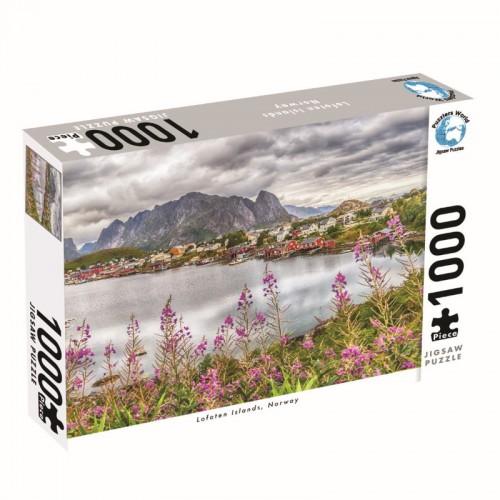 Puzzlers World Loften Islands 1000pc Jigsaw