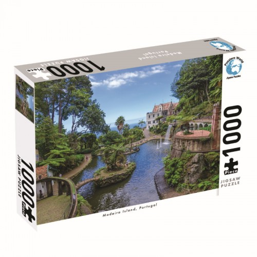 Puzzlers World Madeira Islands 1000pc Jigsaw