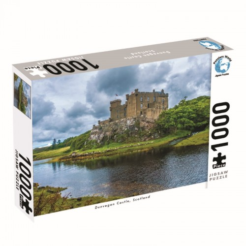 Puzzlers World Dunvegan Castle 1000pc Jigsaw