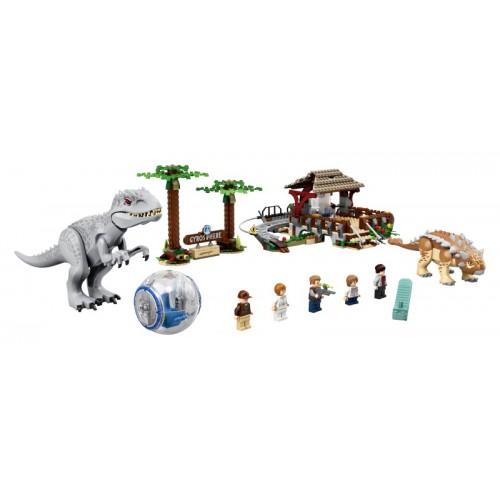 Indominus Rex vs. Ankylosaurus