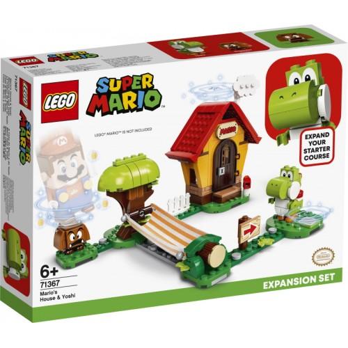 Mario's House & Yoshi...