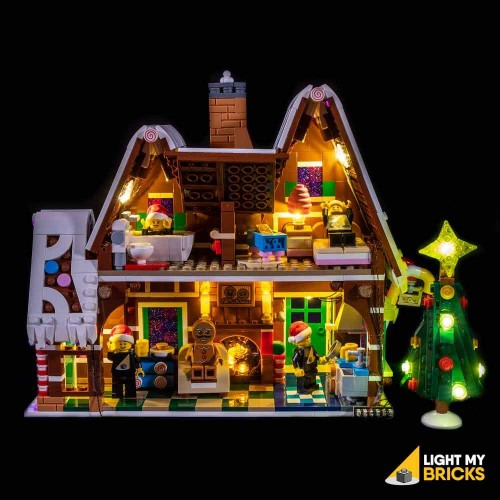 Lego Gingerbread House...