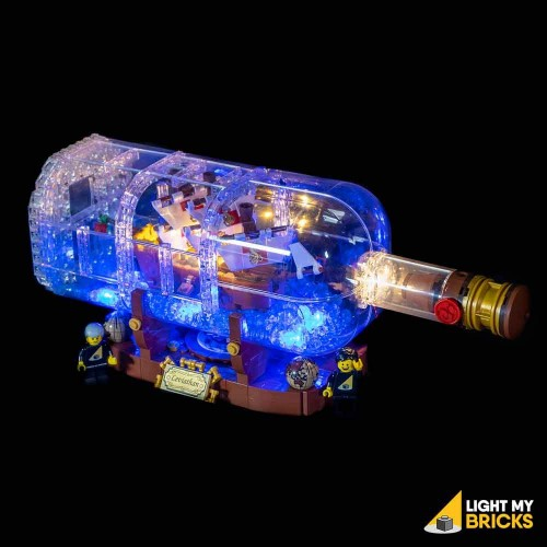 Lego Ship In A Bottle 21313...