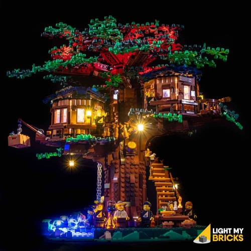 Lego Tree House 21318 Light...