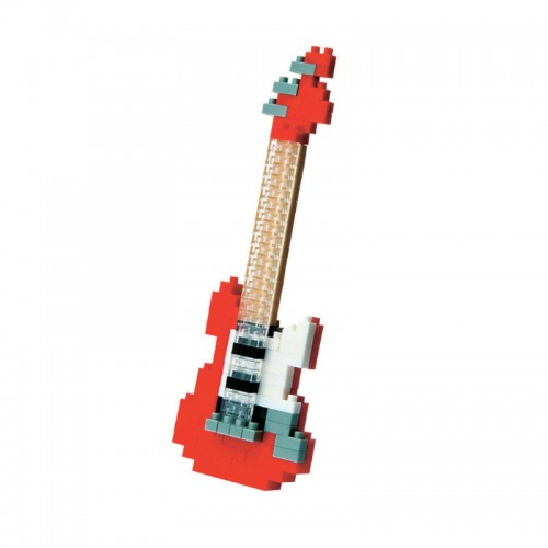 Nanoblocks Electric Guitar Red