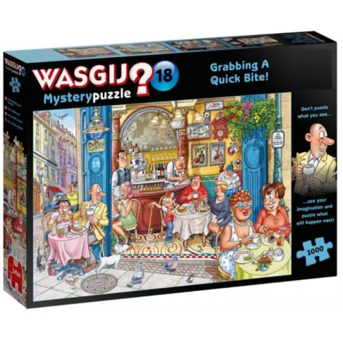 WASGIJ? Mystery 18 Grabbing...
