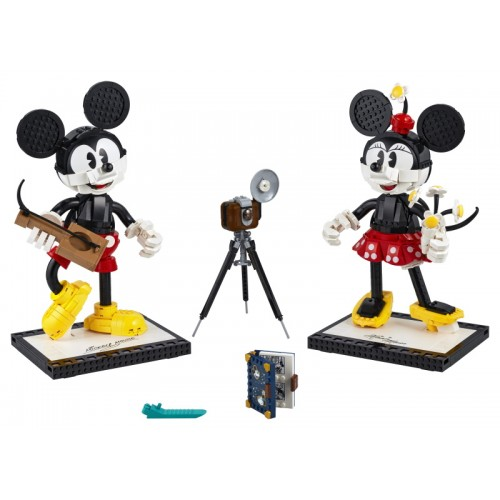 Mickey Mouse & Minnie Mouse...