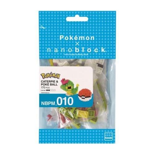 Nanoblocks Caterpie and...
