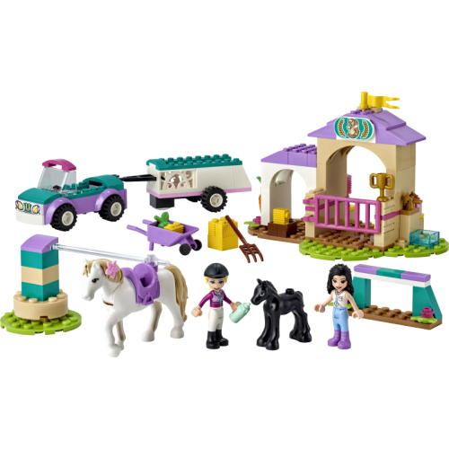 Horse Training and Trailer