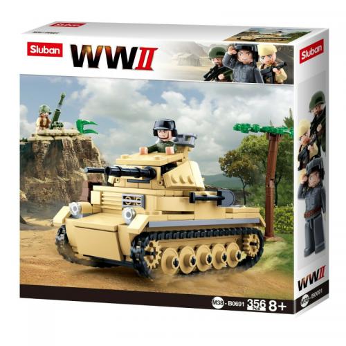 WW2 Tank Panzer 2