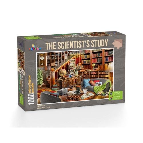The Scientist's Study 1000...