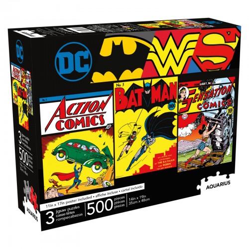 DC Comics 500 pieces (3 in...