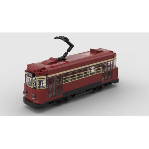 Glenelg Tram Custom LEGO Model