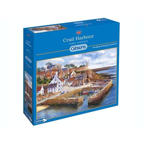 Crail Harbour 1000pc Puzzle