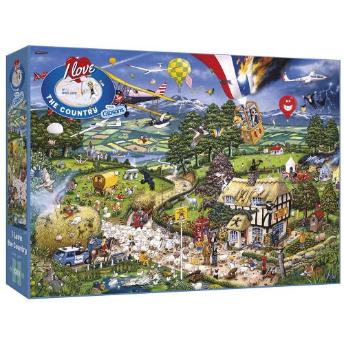 I Love The Country 1000pc...