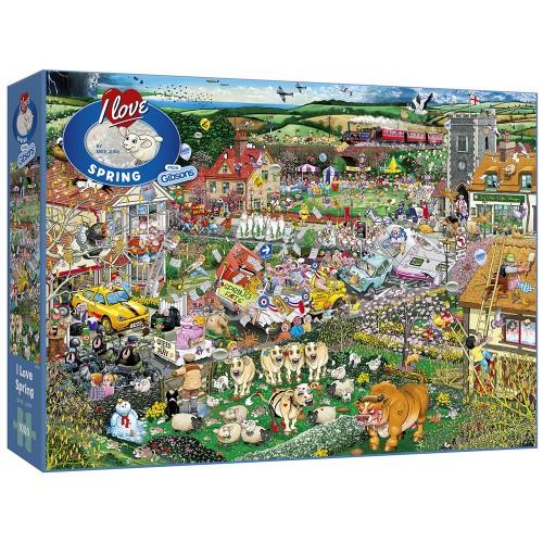 I Love Spring 1000pc Puzzle