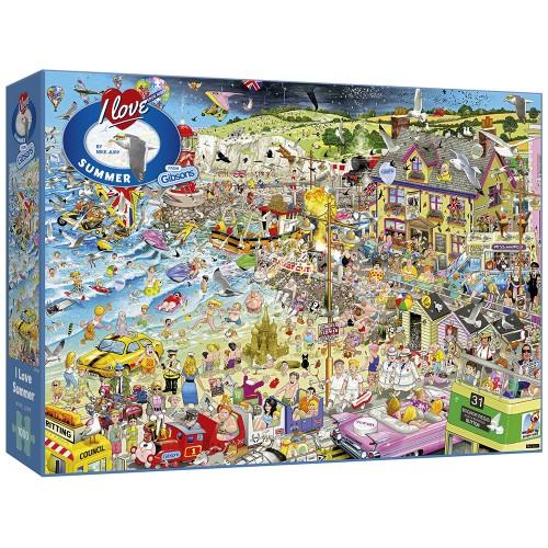I Love Summer 1000pc Puzzle