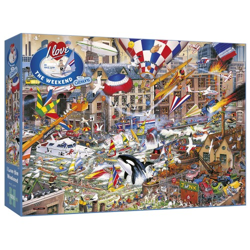 I Love The Weekend 1000pc...