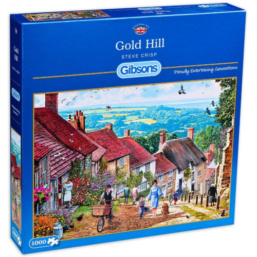 Gold Hill 1000pc Puzzle